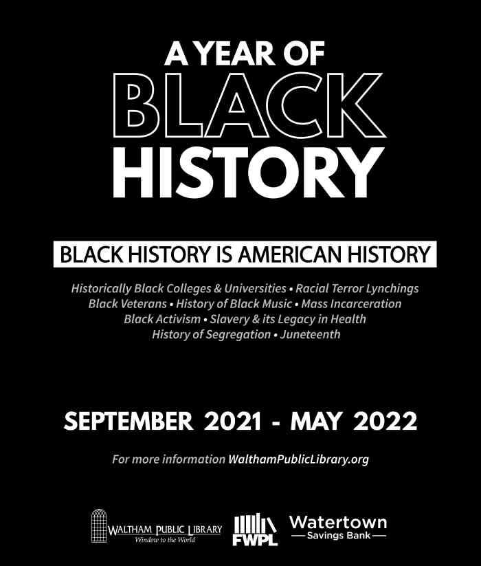 Black History Year Flyer